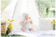 Winter Freire Photography | Sweet Pure Organic | Dayton, Ohio Fine Art Baby and Child Photography | Darling Baby Shop Commercial Shoot | Darling Baby Shop Mint + Yellow Collection 2017