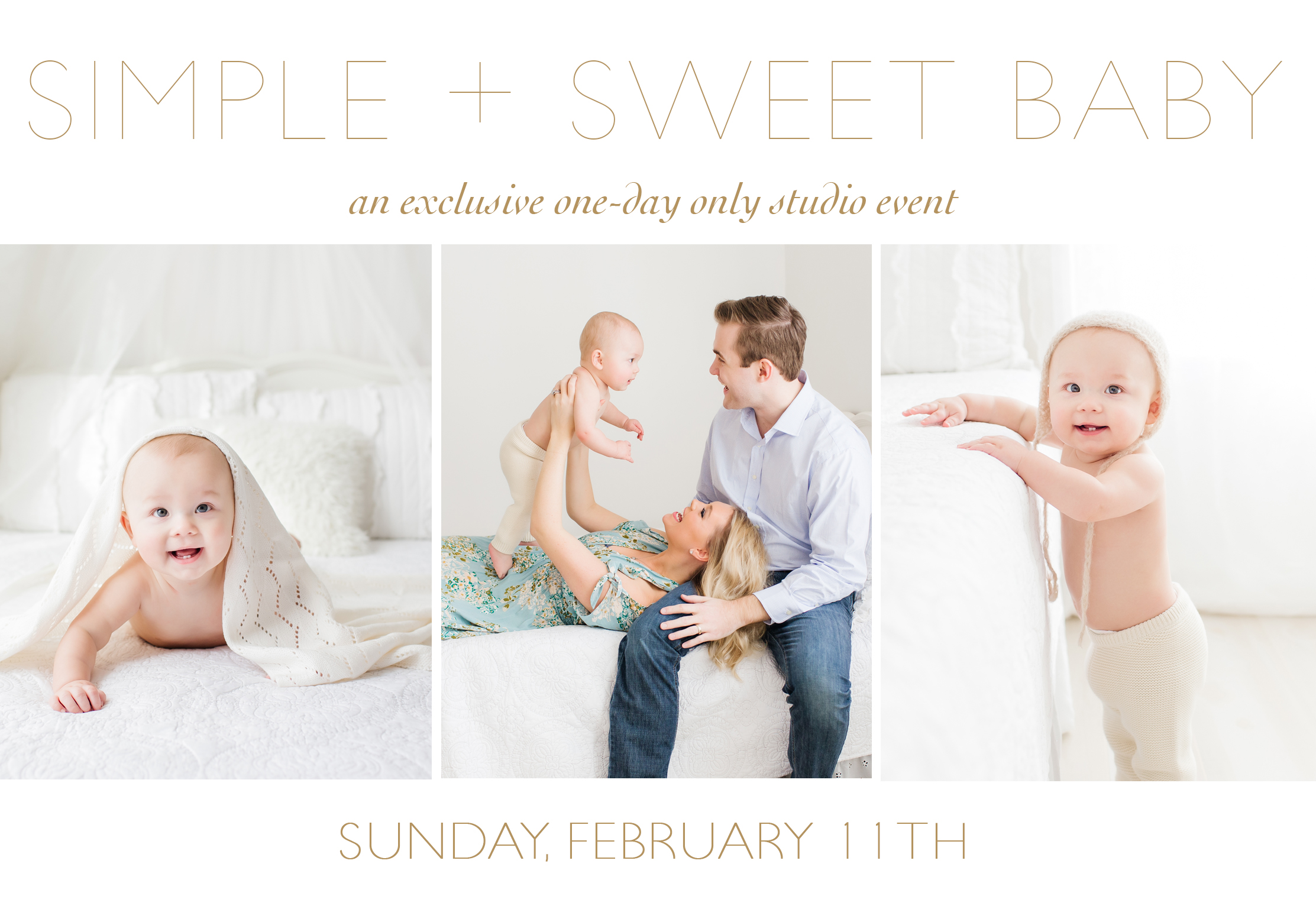 sweet simple baby a baby milestone event winter. Black Bedroom Furniture Sets. Home Design Ideas